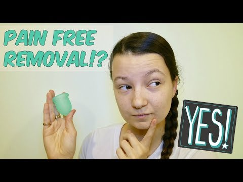 How to remove your menstrual cup, pain free!