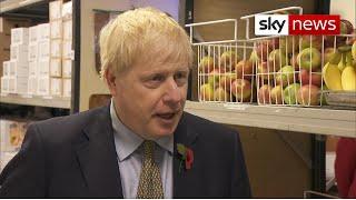 Free school meals: PM hasn't spoken to Marcus Rashford since June