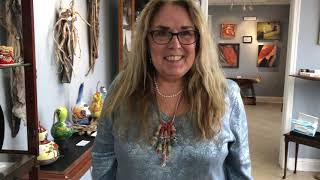 Jewelry Artist Liana Joy Carter Pivirotto at The Artists' Alliance of Colonial Beach