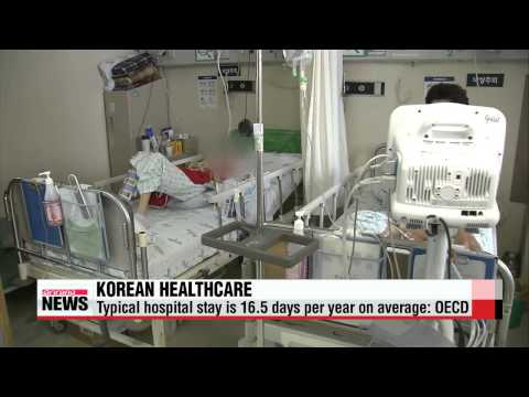 Korea has most doctor visits, longest hospital stays in OECD   한국 국민 1인당 의사 방문횟수