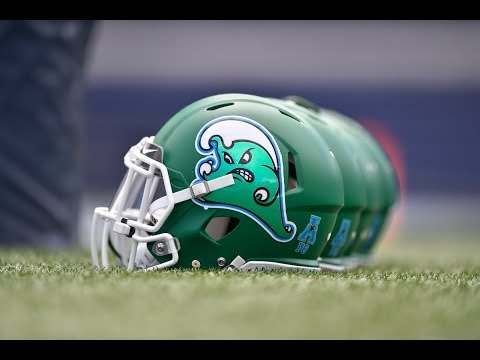 2018 American Football Highlights - Tulane 42, Nicholls 17