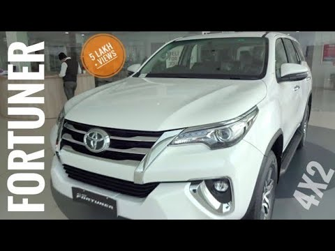 Toyota Fortuner Top Model 4x2 For Price 15 Min Features New 2017 2018