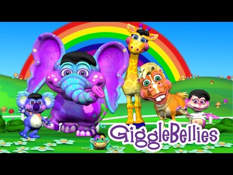 Best Kindergarten Songs | 9 Fun Kids Songs | GiggleBellies