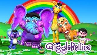 Best Kindergarten Songs | 9 Fun Kids Songs | GiggleBellies