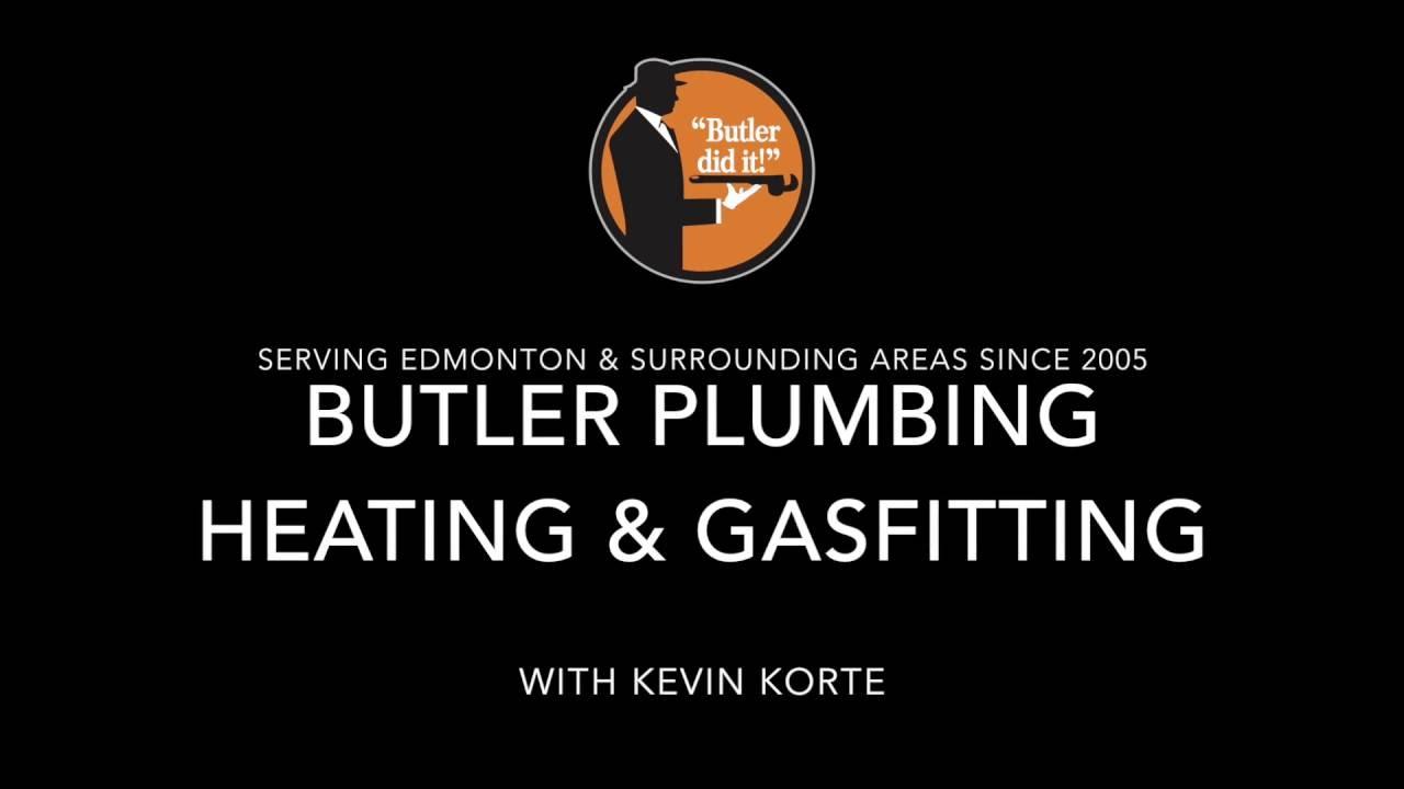 Butler Plumbing Serving Edmonton & Surrounding Areas Since 2005