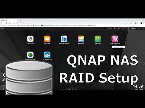 QNAP RAID Guide - How to Setup RAID 1, RAID 5 or a Hot Spare