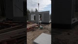 Дом из ЖБИ панелей