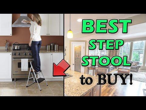 Best Step Ladder 2020 (Foldable Stool for Home Use, Seniors & Elderly)
