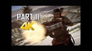 RED DEAD REDEMPTION Gameplay Walkthrough Part 11 - Fort Mercer (4K Xbox One X Enhanced)