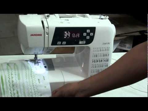 Janome 40 DC Computarizada En MAQUINERIA BEIRO YouTube Adorable Janome 2160dc Sewing Machine Review