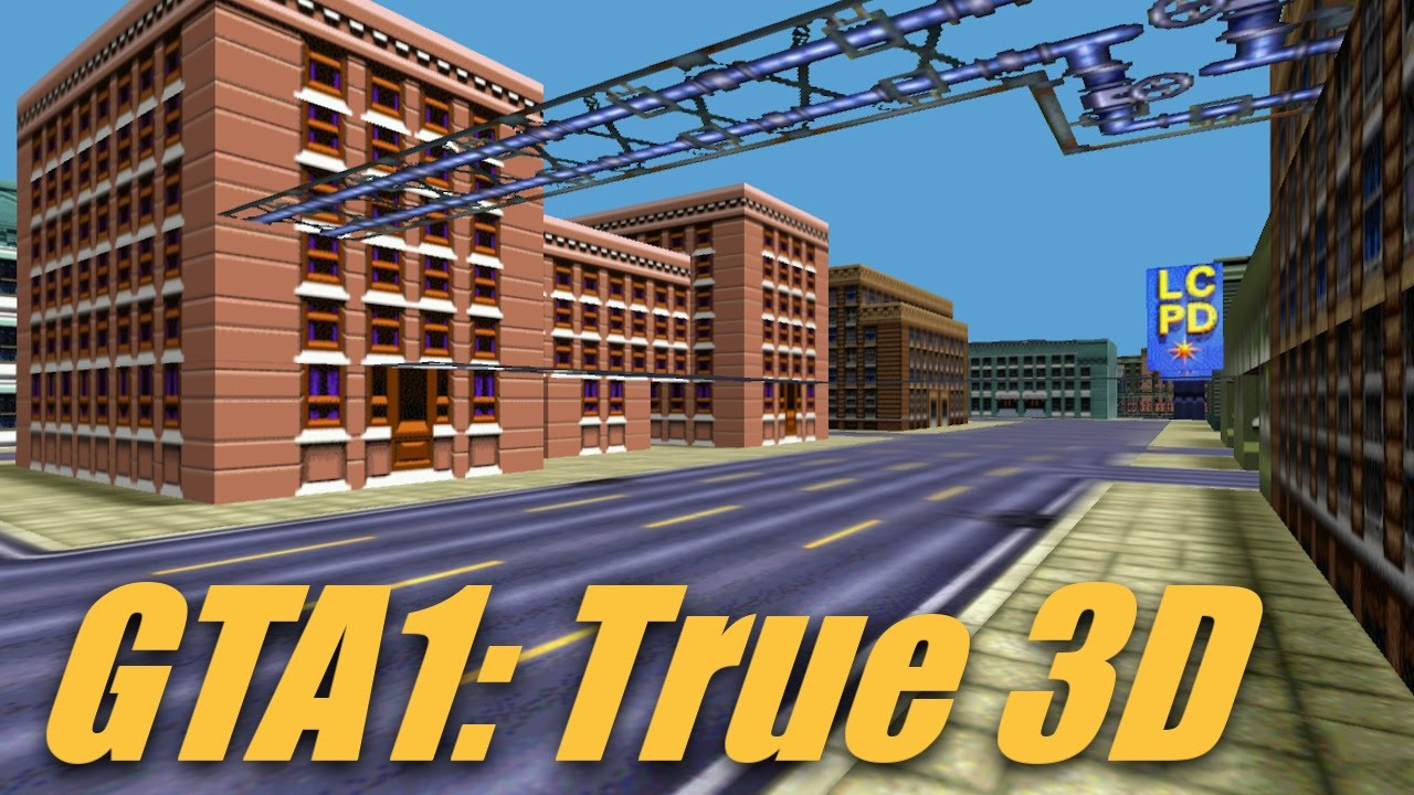 Grand Theft Auto 1 Map in Full 3D   YouTube Grand Theft Auto 1 Map in Full 3D