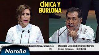 Noroña vs Robles: CÍNICA y BURLONA - [Completo]
