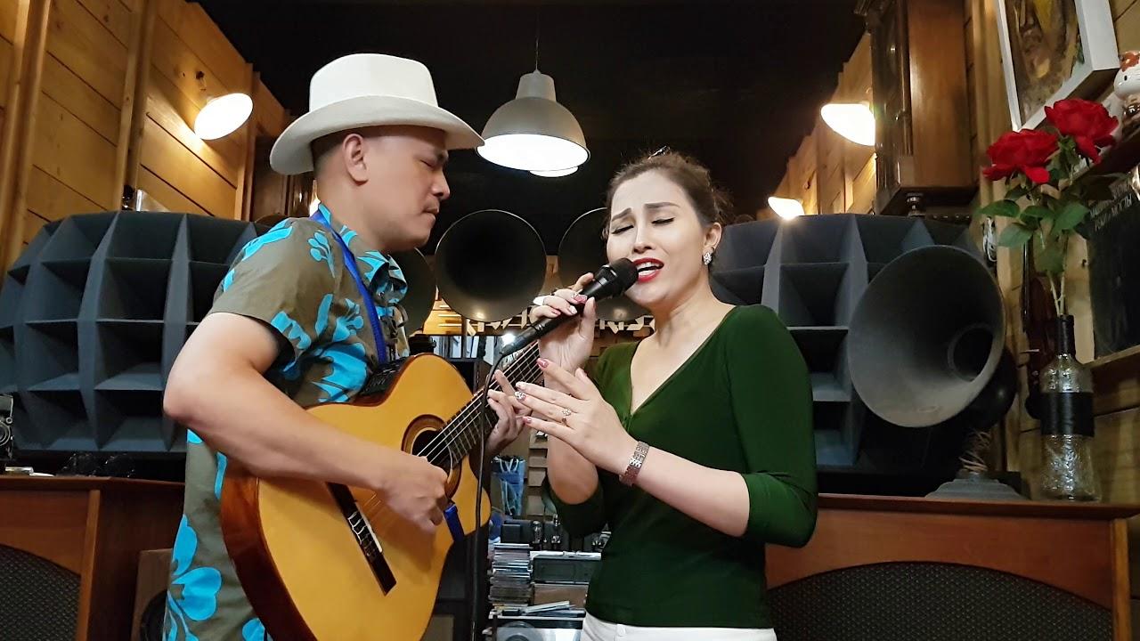 ĐêM kHÔnG CÙnG - Singer Hạ Vân & đàn Phương Phạm ( st: Từ Công Phụng ) #1