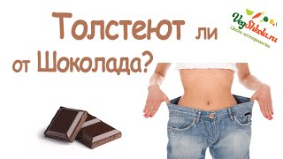 Толстеют ли от шоколада? Вегетарианство. Vegshkola.RU (Майкл Грегер)
