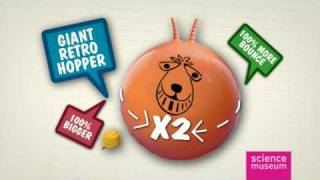 Space Hopper from The Science Museum - HQ WIDESCREEN