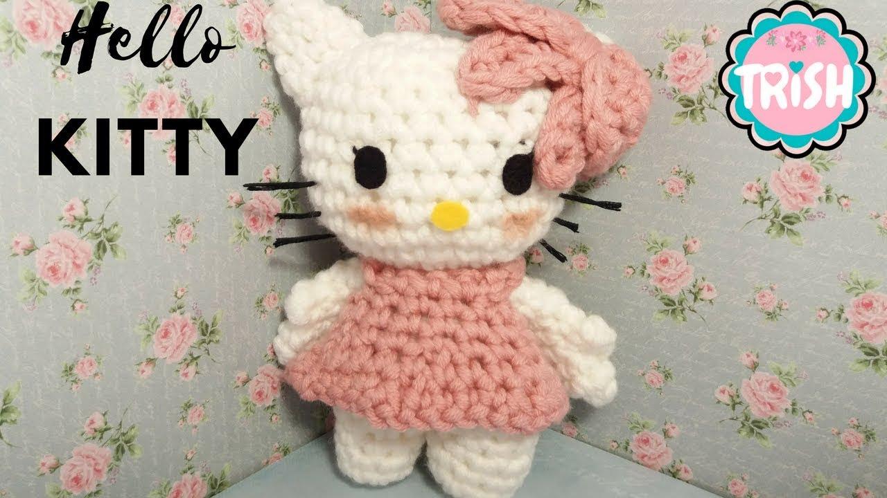 Hello Kitty amigurumi - Como Fazer | 720x1280