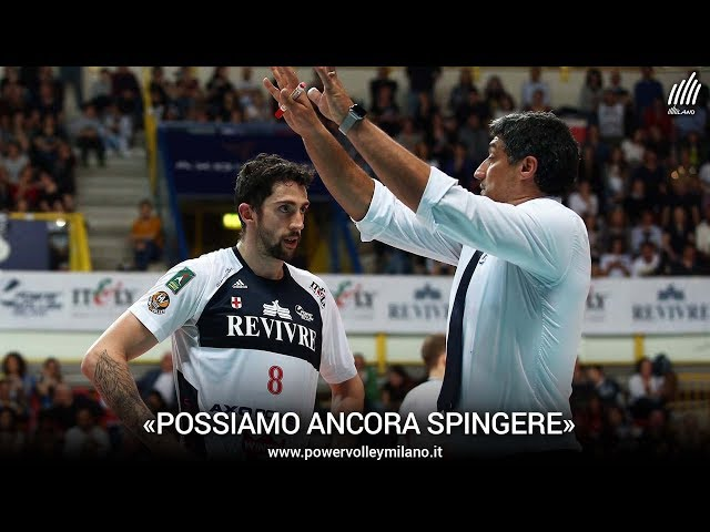 Superlega, l'intervista post Milano - Trento di Andrea Giani