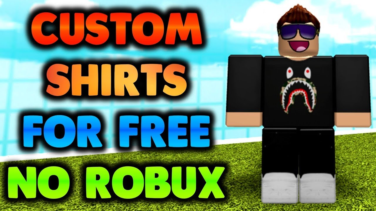 How To Get Cool Shirts For Free In Roblox Youtube