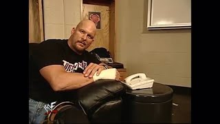 Sarah It Was Me All Along It Was Stone Cold Steve Austin WWE Smackdown 5-17-2001