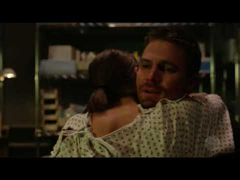 Arrow 6x07 Ending scene Thea wakes up from coma