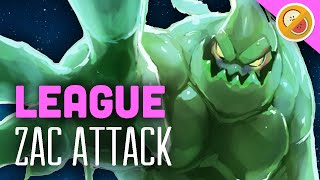 ZAC ATTACK! League of Legends Gameplay | Fruit and Chill #2