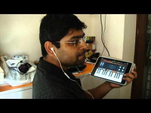 Gerua | Dilwale | iPad GarageBand | Instrumental | Listen with Headphones