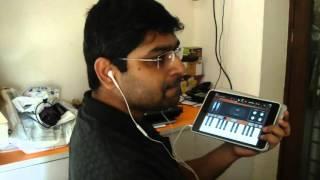Gerua   Dilwale   iPad GarageBand   Instrumental   Listen with Headphones