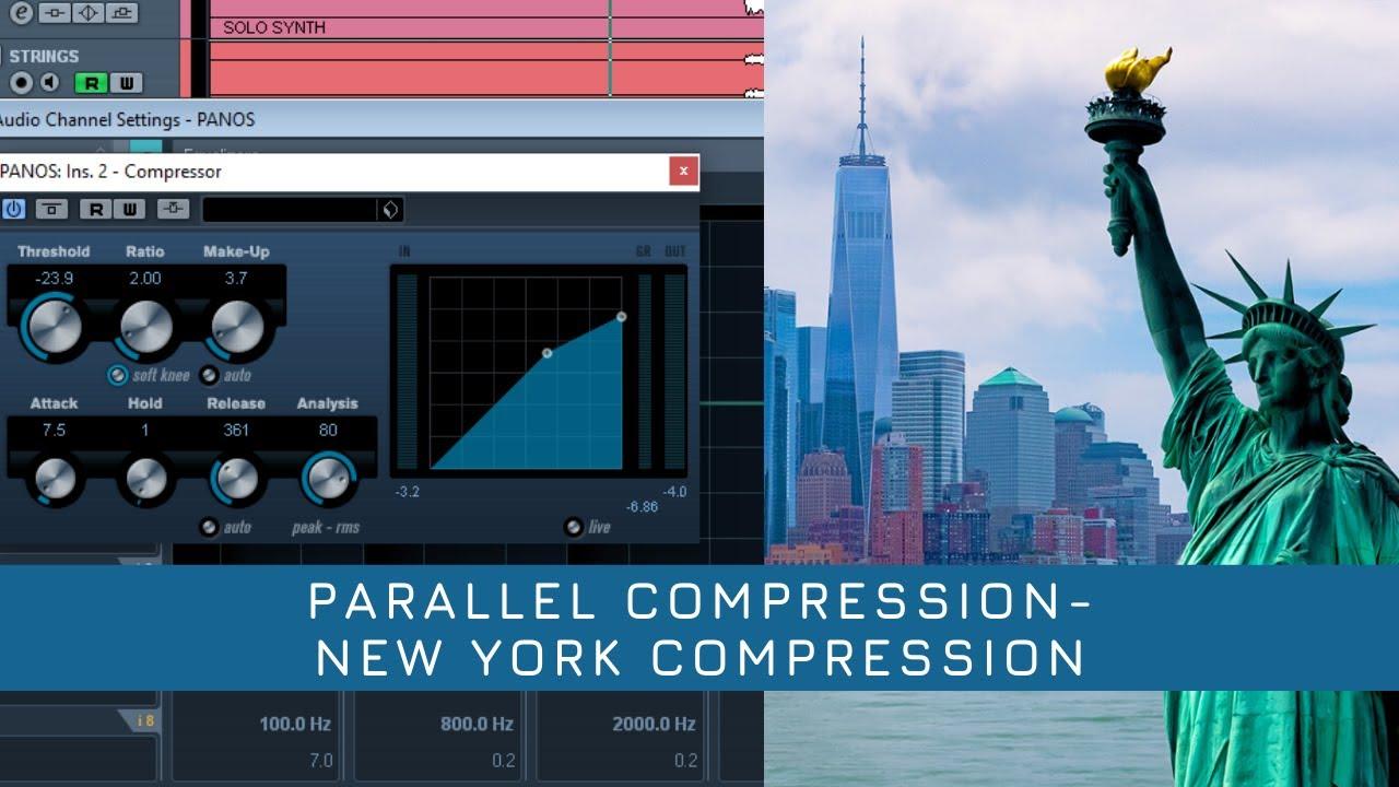 Parallel compression στη μίξη-Βίντεο