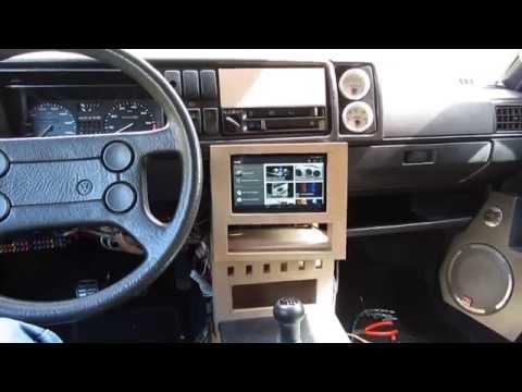 Car Center Console Dashboard Tablet Radio Build