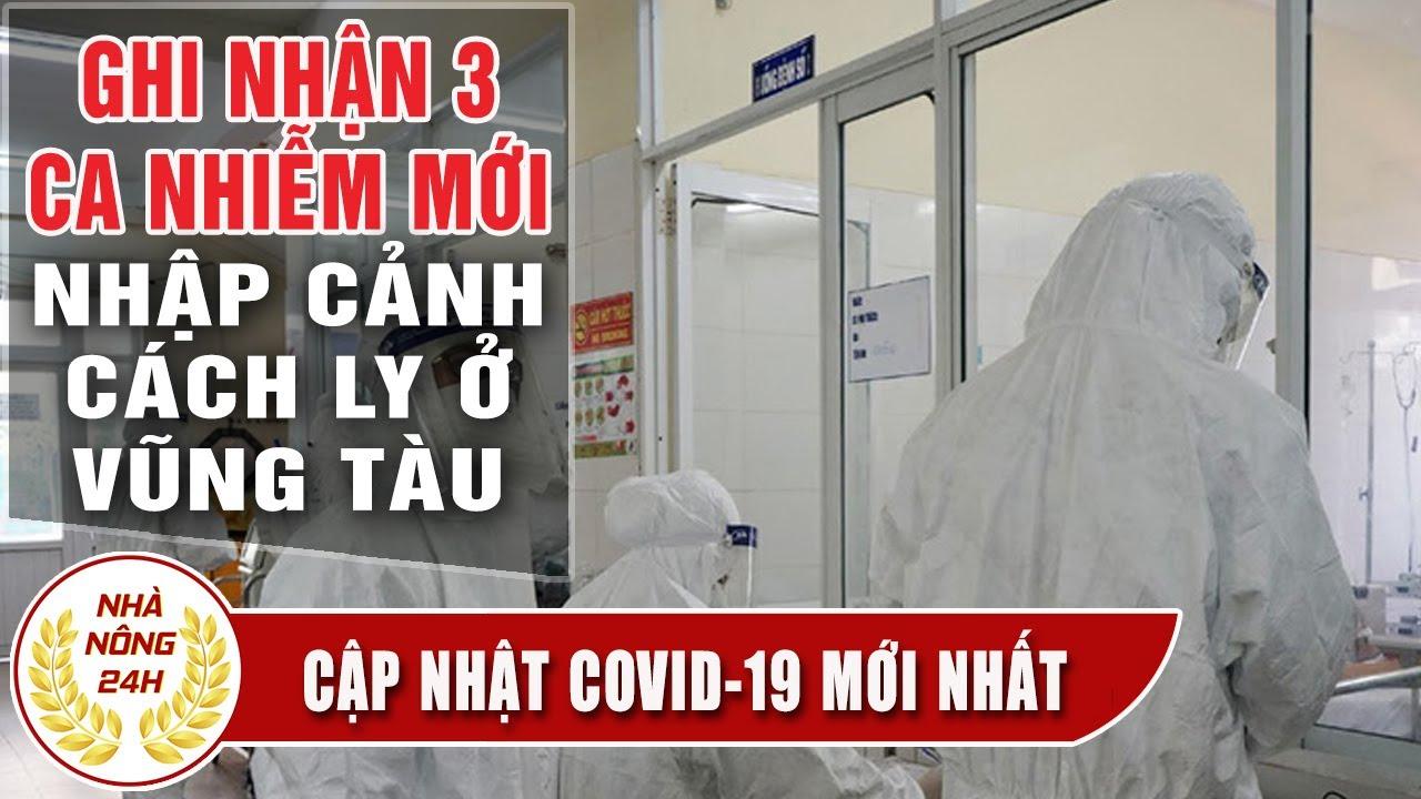 ❤️Cập nhật tình hình dịch covid-19 mới nhất 4/9   Ghi nhận 3 ca nhiễm mới được cách ly ở Vũng Tàu