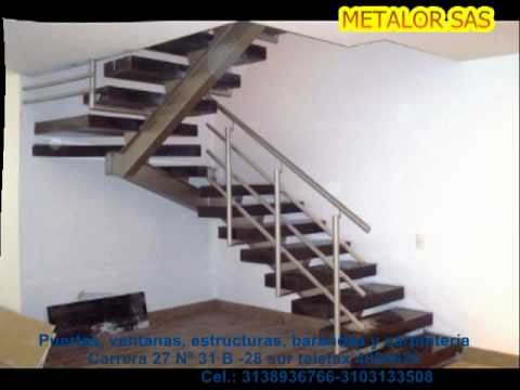 Metalor youtube - Modelos de escaleras interiores ...