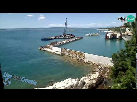 Construction of Marina Muroskva at Novi Vinodolski Croatia