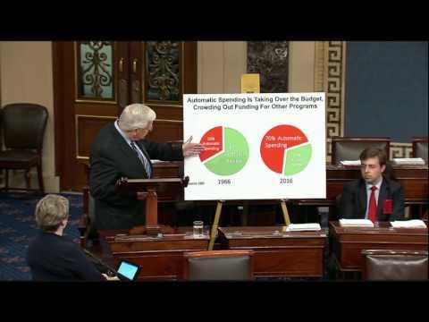 Enzi highlights bipartisan solutions to fix America's broken budget process