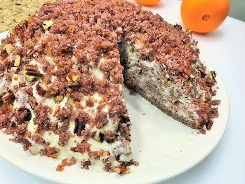 Торт Трухлявый Пень. Домашний простой рецепт! КОНКУРС. Delicious homemade cake.