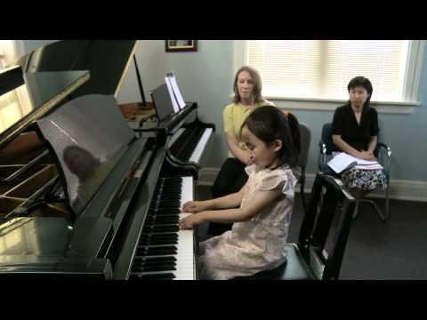 CSA Early Suzuki Piano Lesson in HD