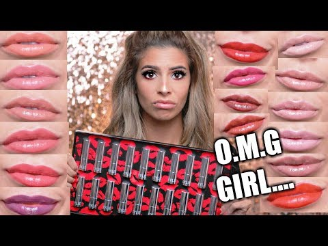 NEW KYLIE COSMETICS LIPSTICK | LIP SWATCHES ALL 20 SHADES! | HIT OR MISS?