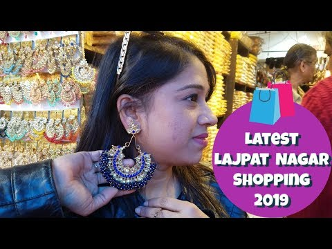 Affordable Shopping From Lajpat Nagar Delhi 2019 | Famous Chaat and Cloth Shop | Indian Mom Studio