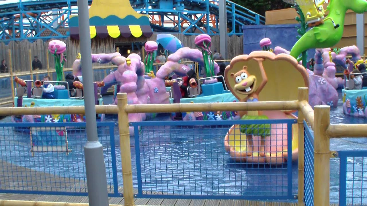 Nickelodeon Land Blackpool Pleasure Beach 2 Youtube