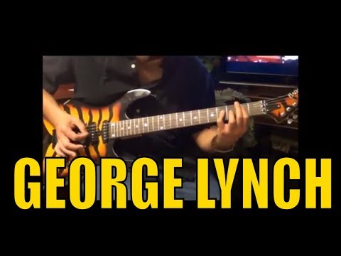 George Lynch | Dokken | Lynch Mob | Live Licks Guitar Lesson