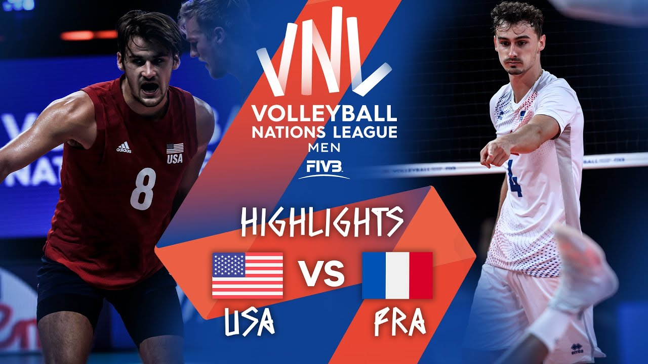 Download USA vs. FRA - Highlights Week 4 | Men's VNL 2021