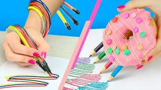 8 अजीब तरीके क्लास में तनाव कम करने वाला सामान कैसे ले जाए / तनाव कम करने वाला स्कूल का सामान