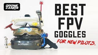 BEST FPV GOGGLES - After 10 Years of Flying Experience