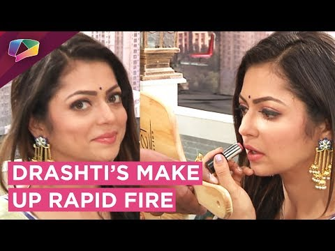 Drashti Dhami Takes Up Our Make Up Rapid Fire | Exclusive Interview