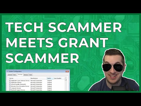 Unhappy Tech Scammer Meets Grant Scammer  [Highlight]