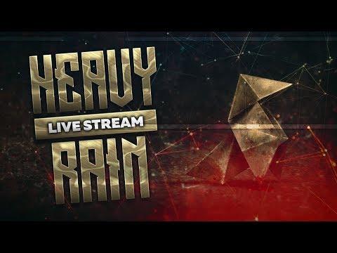Сильный дождь на стриме Айса #1 | стрим прохождение heavy rain | Iseman3d