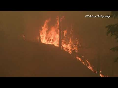Caldor Fire In El Dorado County Grows Throughout The Day and Prompts Thousands To Evacuate