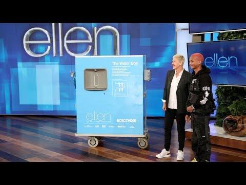Jaden Smith Surprises Ellen with Gift to Help Flint Water Crisis