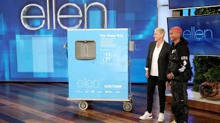Jaden Smith Surprises Ellen with Gift to Help Flint Water Crisis