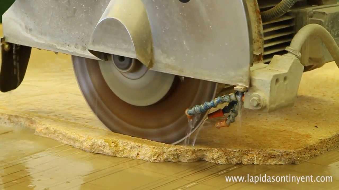 Maquina de corte de marmol para lapidas youtube for De donde sacan el marmol