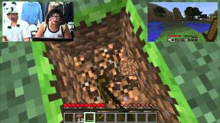 minecraft with two losers part 1 2 asn collab week